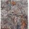 Faliero sarti patterned scarf, women's, grey, polyamide/cashmere/virgin wool