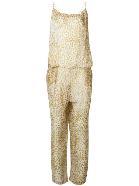 humanoid jumpsuit women nude silk