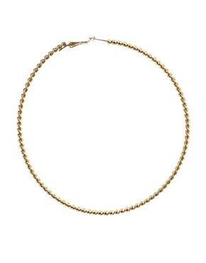 ASOS | ASOS Rope Hoop Earrings at ASOS