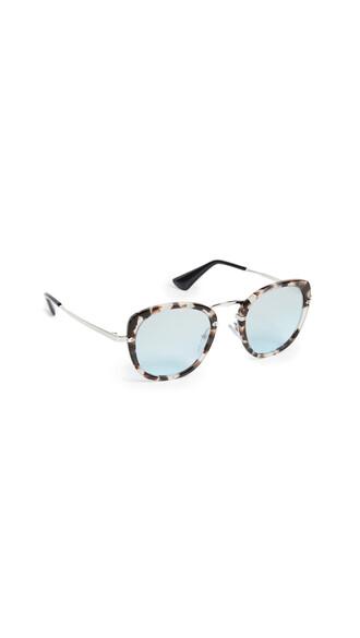 sunglasses round sunglasses opal brown