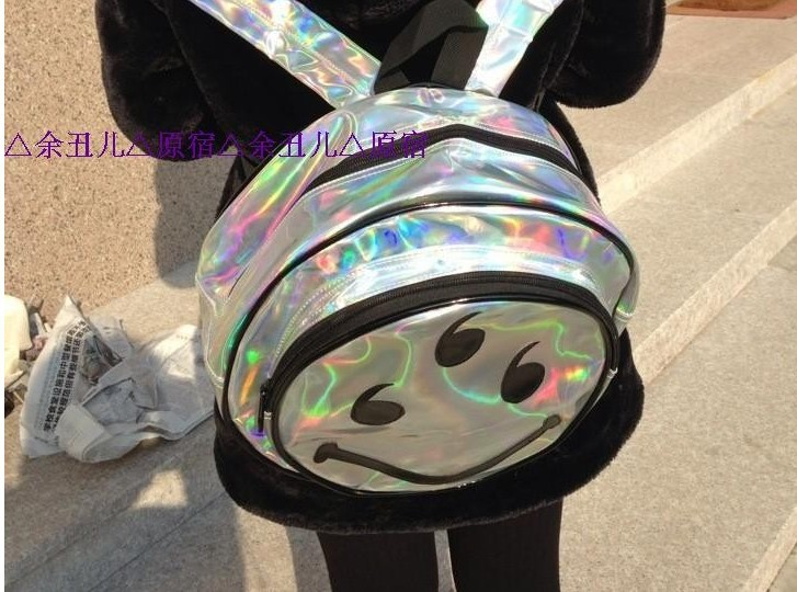 bag resealer Picture - More Detailed Picture about Promotion Laser Smile Hologram Backpack Hologram Shoulder Message Bag Designer's Bag Picture in Casual Daypacks from ABS(Apparel,Bag,Shoes) Mall