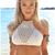 Sexy White Crochet Cropped Top Crop Bikini Top High Neck Short Crochet Bikini Top Vintage 2015 Biquinis Women Crochet Bikini-in Two-Piece Separates from Women's Clothing & Accessories on Aliexpress.com | Alibaba Group