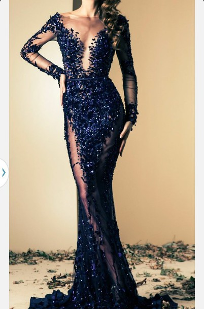 dress prom dress sequenced dress sequence dress prom see through dress sparkly dress