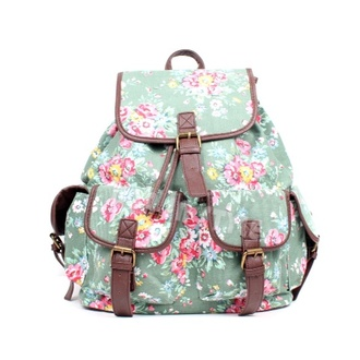 bag flowers backpack vintage backpack vintage pink pink backpack blue backpack blue swag nice women cute sweet clothes sweg fashion