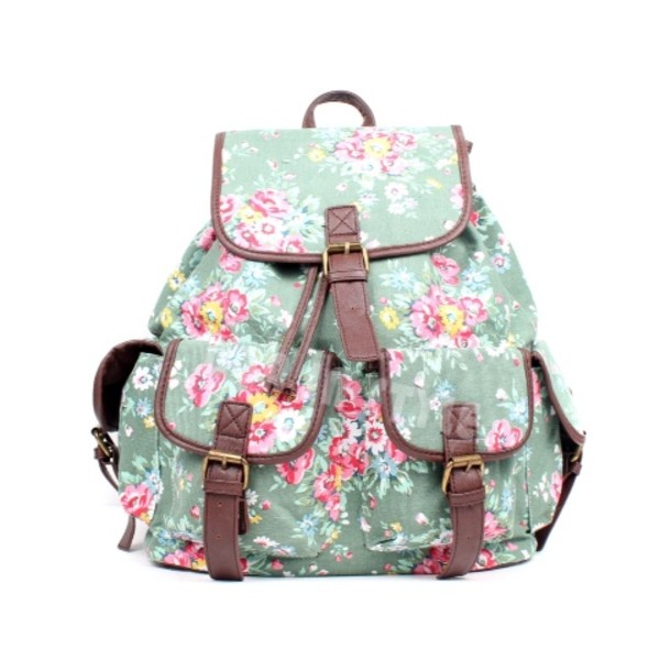 bag flowers backpack vintage backpack vintage flowers pink pink backpack blue backpack blue swag nice women bag backpack cute sweet clothes sweg clothes fashion