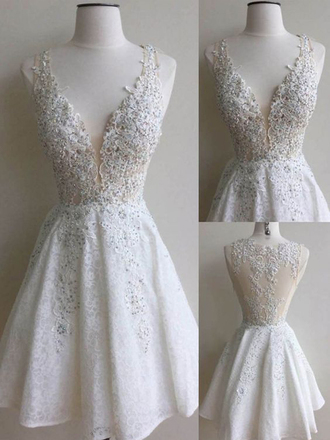 dress short homecoming dress white homecoming dress 2016 white lace homecoming dress lovely dress simple homecoming dresses homecoming homecoming dress beads short prom dress 2016 short prom dresses cocktail dress party dress sexy party dresses short party dresses