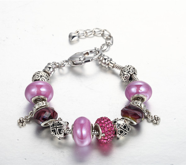 Aliexpress.com : Buy CDE Murano Glass Beads Bracelets Charm for Ladies Jewelry Accessories from Reliable bracelet owl suppliers on CDE FASHION JEWELRY