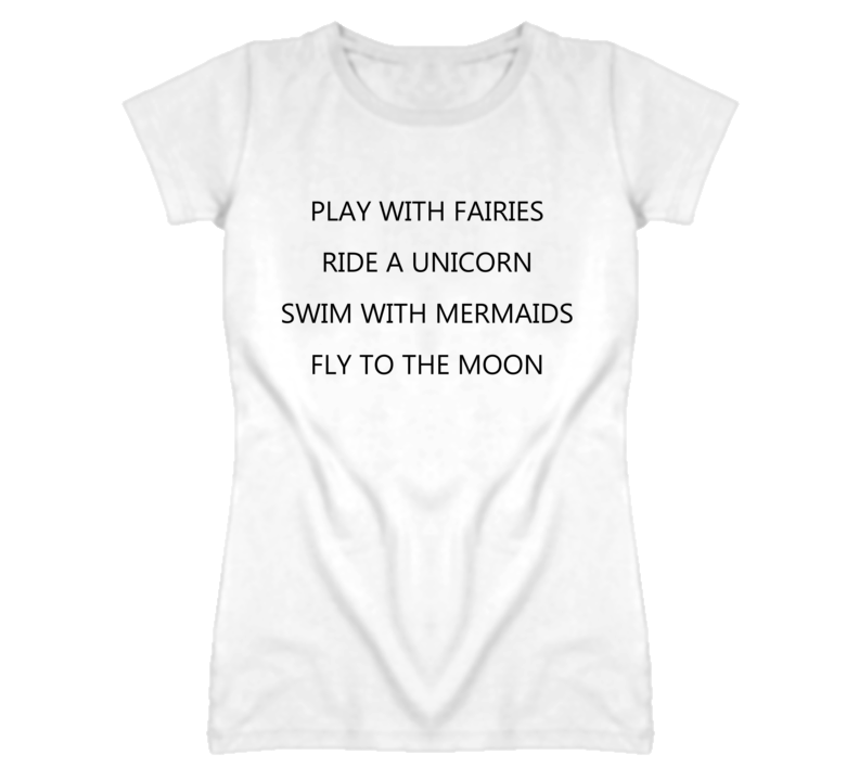 Play With Fairies Ride a Unicorn Awesome T Shirt