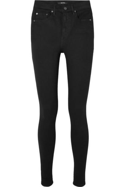 GRLFRND jeans skinny jeans high black