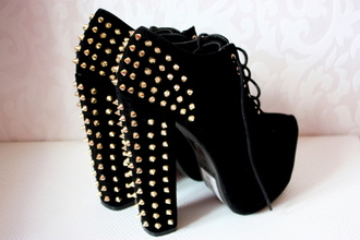 shoes high heels spikes