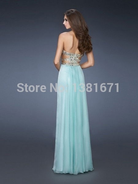 Aliexpress.com : Buy Crystal Sweetheart Neckline Cross Sexy Back Summer Color Sale Women Evening Dress 2014 from Reliable women dresses free shipping suppliers on Aojia Top Evening Dress