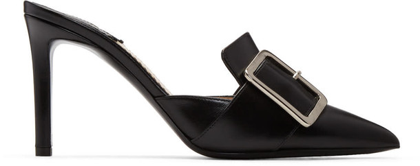Altuzarra mules black shoes