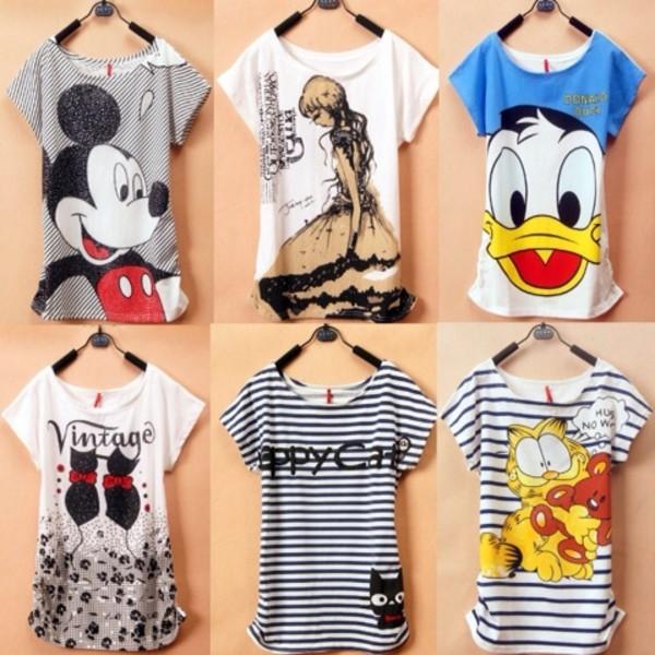 T shirts design for women