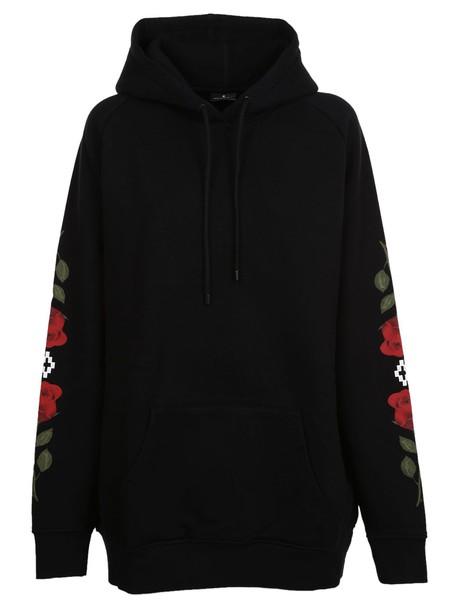 Marcelo Burlon hoodie black sweater