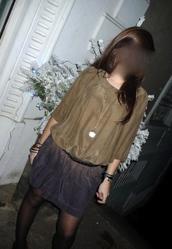 dress,rainbow,silk,shaded,gradation,brown dress,purple dress