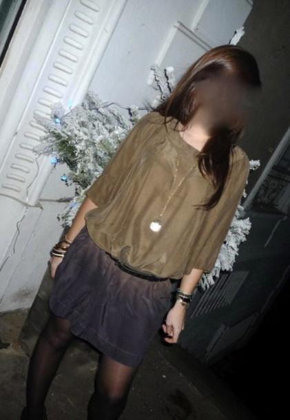 dress rainbow silk shaded gradation brown dress purple dress