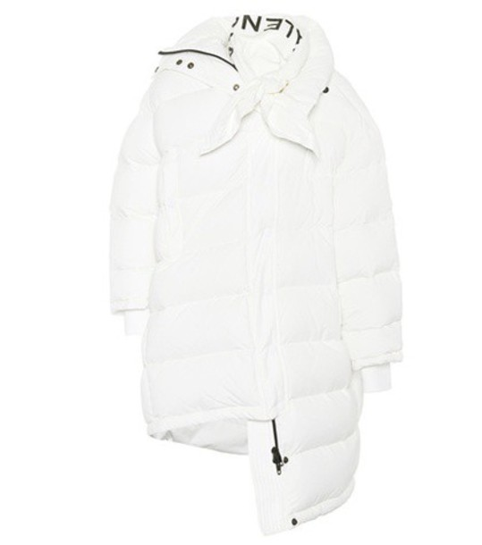 Balenciaga coat white
