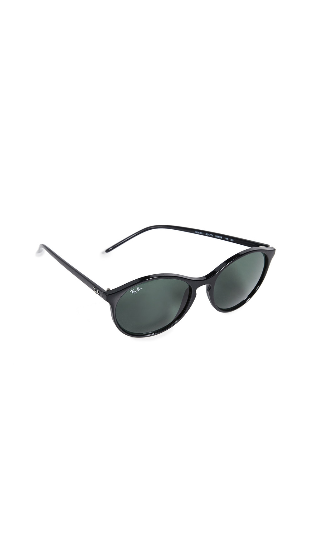 Ray-Ban Oversized Round Sunglasses in black