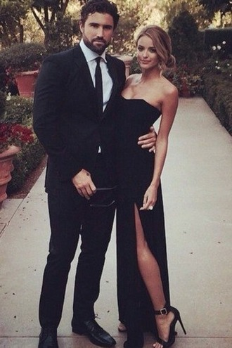 wonderful black dress mens suit slit dress bustier dress date outfit dress prom menswear