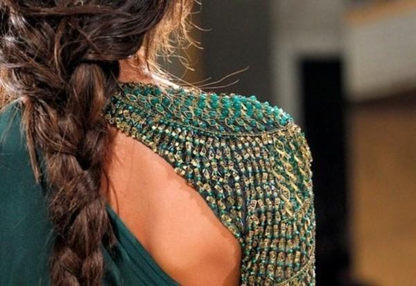 dress green one shoulder prom design shoulder shoulder design slit