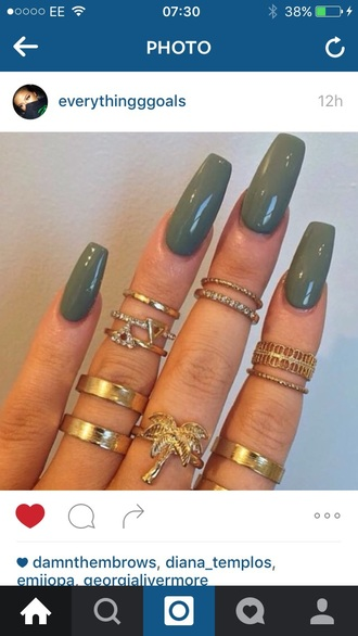 nail accessories ring