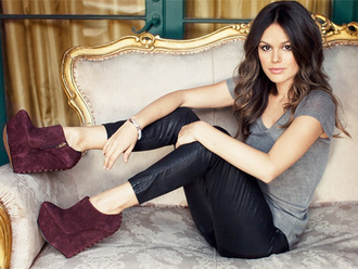 rachel bilson shoemint wedges shoes pants