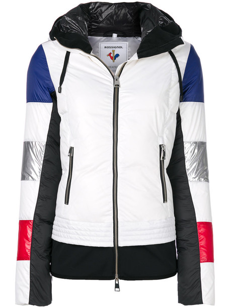 jacket women white