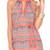 Luli Fama Backless Mini Dress - Fuego Divino