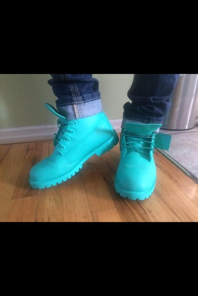blue timberlands lovely boots light timberlands boots shoes timberlands mens shoes timberland turquoise
