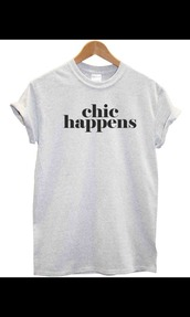 shirt,chic,grey,quote on it,need it now,peri.marie