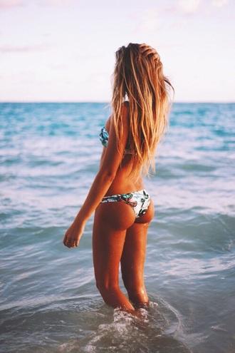 swimwear white bikini blue bikini yellow bikini