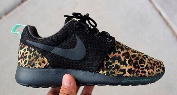 4471dd52c0d6 shoes black nikes nike leopard shoes black and cheetah nike running shoes  nike roshe run
