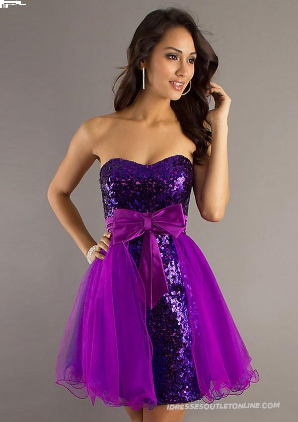 Purple Party Dresses For Juniors – sofy.tk
