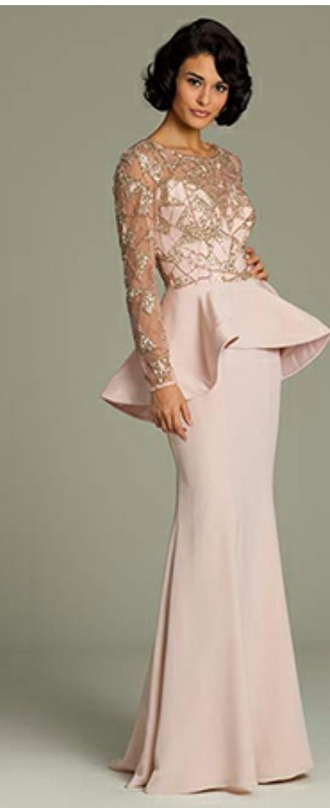dress long sleeves pink dress