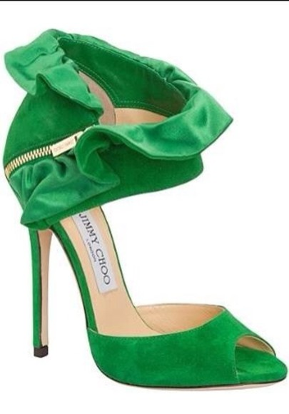 green shoes shoes