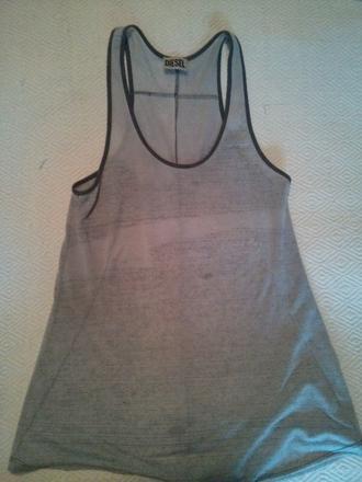 sleeveless t-shirt diesel