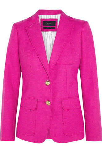 blazer wool jacket