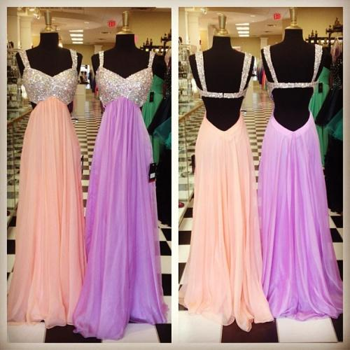Wholesale Prom Dresses - Buy Sparkling Sequins Empire Prom Dresses Sexy Sweetheart with Straps Backless Floor Length Evening Gowns Formal Dress Custom Made $118.33 | DHgate