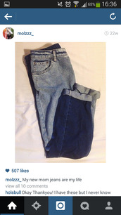 jeans,mom jeans,blue,vintage,high waisted jeans