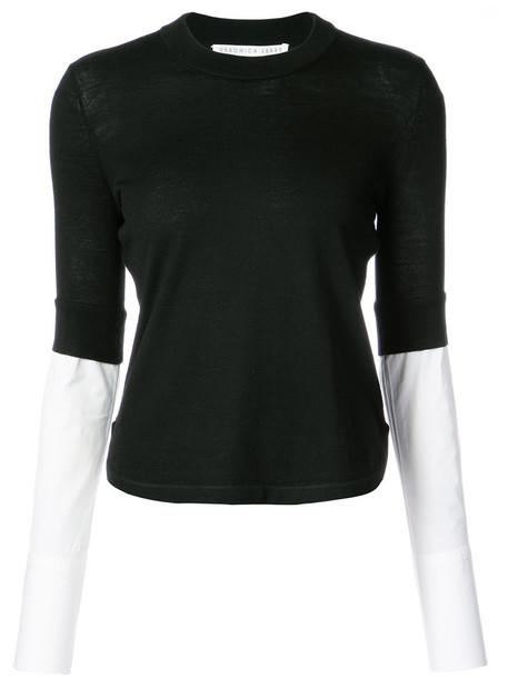 Veronica Beard sweater women layered black