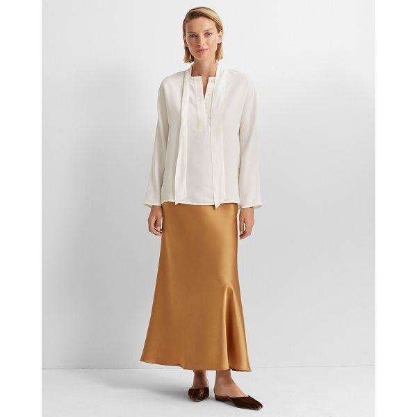 Long Bias Slip Skirt