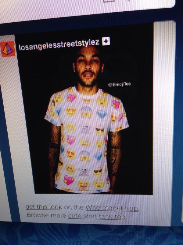 blouse emoji print emoji print sweaters sweater t shirt$