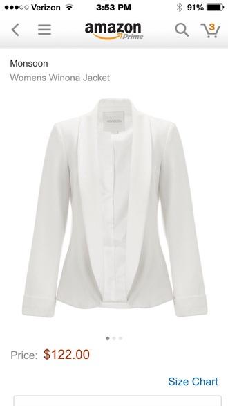 ivory jacket bridal