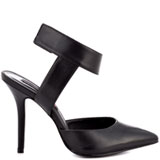 Revolvir - Black Leather, Steven by Steve Madden, 129.99, FREE 2nd Day Shipping!