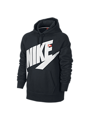 The Nike AW77 Logo Pullover Men's Hoodie.