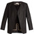 Open-front silk jacket