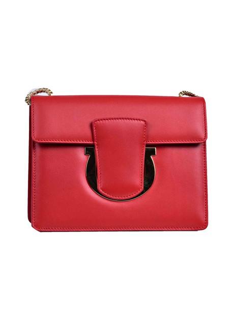Salvatore Ferragamo bag shoulder bag red