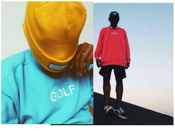 e98eb8bdcc8e GOLFWANG SHIT. sweater ofgwkta odd future gang dope urban outfitters urban  tyler the creator odd future gang hipster