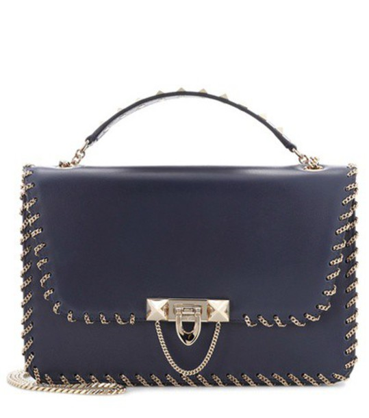 Valentino bag shoulder bag leather blue