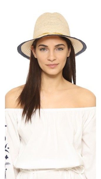 Eugenia Kim Lillian Hat - Natural/Navy